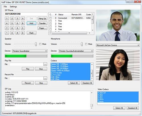 Conaito VoIP Video SIP SDK