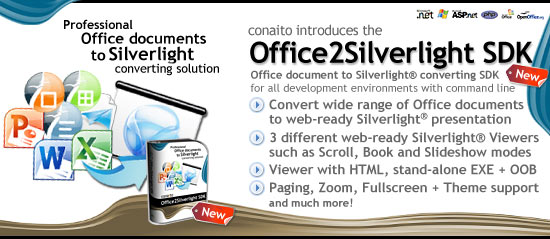 conaito Office2Silverlight SDK