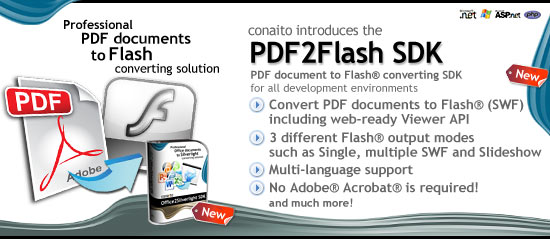 Click to view PDF2Flash SDK 1.0 screenshot