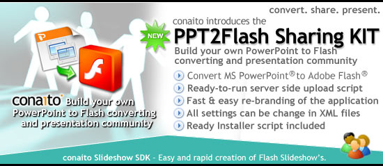 conaito PPT2Flash Sharing KIT 1.0 full
