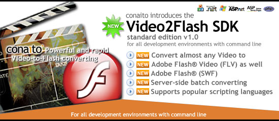 Video2FLV SDK