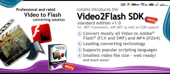 Video2FLV SDK 1.0 full