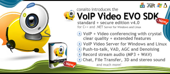conaito VoIP Video EVO SDK