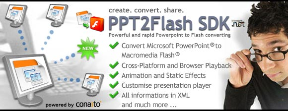 PPT to Flash SDK for .NET ASP.NET COM