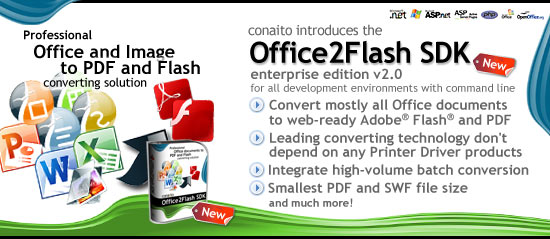 conaito Office2Flash SDK