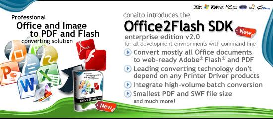 Office2Flash SDK screenshot