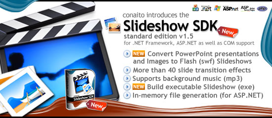 Slideshow SDK for .NET and COM 1.5 full