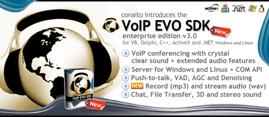 VoIP SDK for Windows and Linux