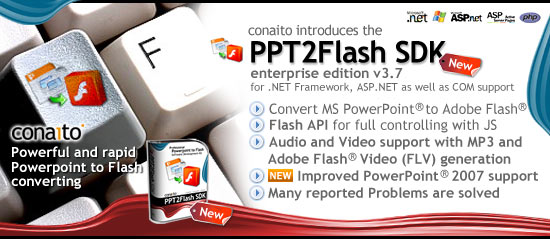 PowerPoint-to-Flash SDK for .NET and COM 3.7 full